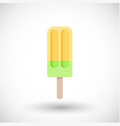 popsicle icon vector image
