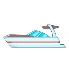 Sailing boat icon cartoon style vector image
