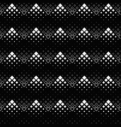 seamless geometrical monochrome diagonal square vector image