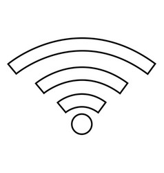 Wifi sign icon vector