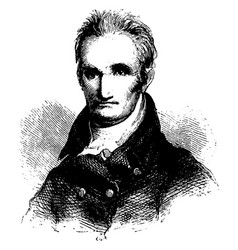 william polk vintage vector image