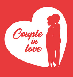 couple in love design vector image