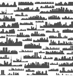 Landscape a background vector image vector image