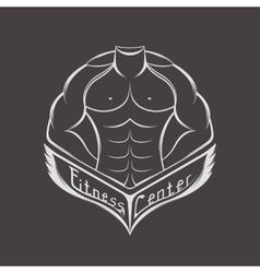 logo sports center or club vector image