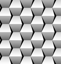 stacked cubes seamless pattern vector image