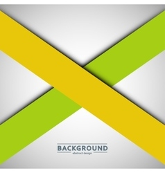 Two crossed lines on a gray background vector image