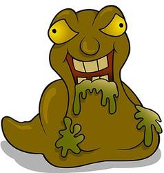 Trash Monster vector image