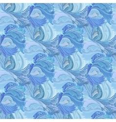 Winter frozen glass seamless pattern background vector