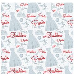seamless fashion pattern vector image