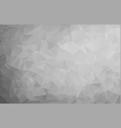 abstract gray background low poly textured vector image
