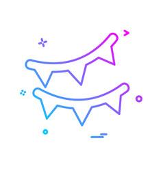 bounties icon design vector image