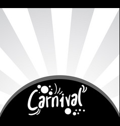 carnival cover vector image
