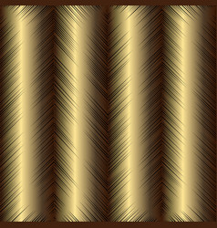 gold grunge textured 3d seamless pattern vector image
