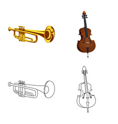 Music and tune sign vector