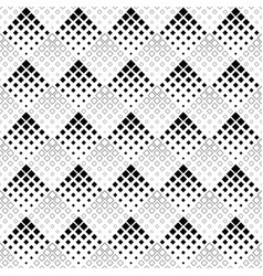 seamless black and white abstract square pattern vector image