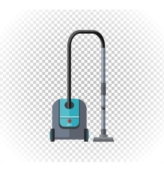 Vacuum Cleaner Design Flat Icon vector