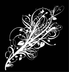 graphic bloom vector image vector image
