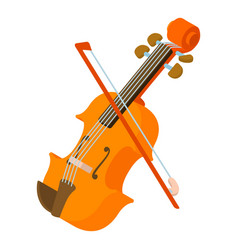contrabass icon isometric style vector image vector image