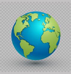 3d world map globe vector