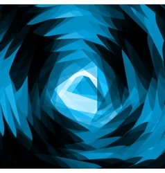 Abstract space blast background - vector image