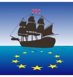 Brexit concept vector image