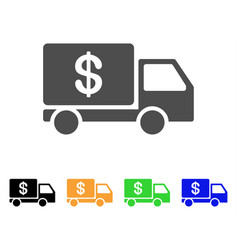 cash delivery icon vector image