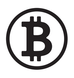 crypto currency symbol vector image