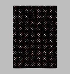 Geometric star pattern background brochure vector