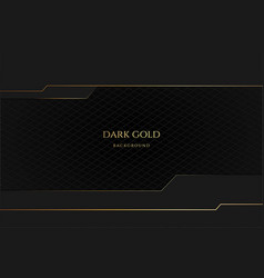 modern futuristic luxury abstract dark grey vector image