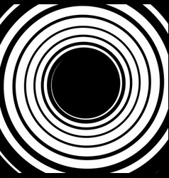 Monochrome background with spiral volute shape vector