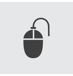 Mouse icon vector image