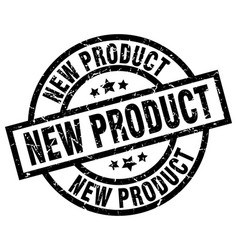 New product round grunge black stamp vector