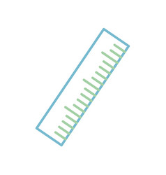 ruler icon image vector image