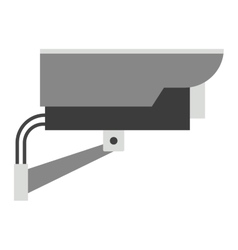 Security camera street icon vector image