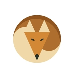 Simple Fox Logo vector image
