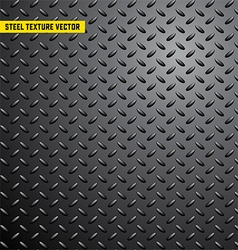 Steel iron metal texture background vector image