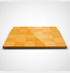parquet wood floor vector image vector image