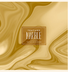 abstract golden liquid marble texture vector image