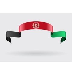 Afghan flag background vector