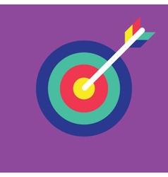 Archery Icon target icon vector