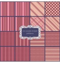 Big set of vintage patterns vector