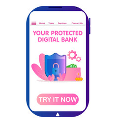 Data protection and mobile file guard security vector