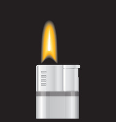 gas lighter vector image