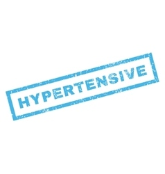 Hypertensive Rubber Stamp vector