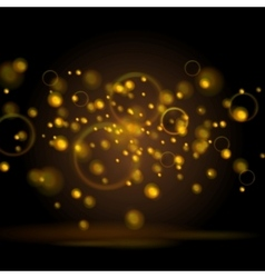 Shiny light sparkling background vector
