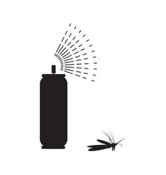 Spray aerosol icon isolated vector