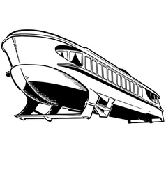 Hydrofoil vector image vector image