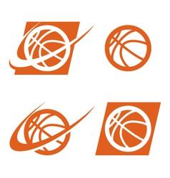 Basketball logo icon vector