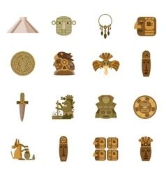 Flat Icon Maya vector image