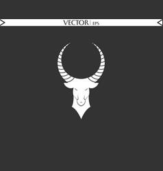 angry ibex logo vector image